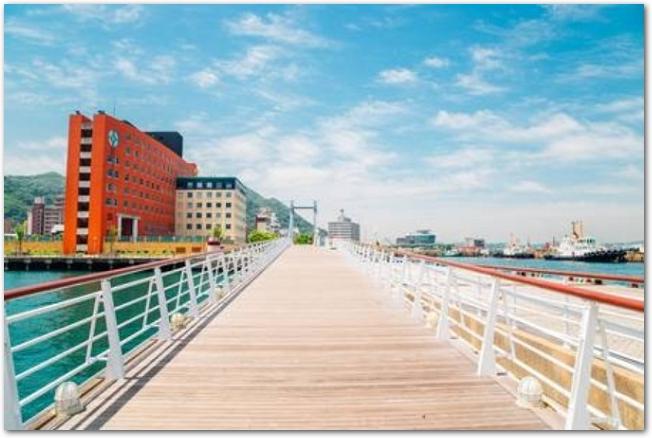 門司港レトロ地区の橋