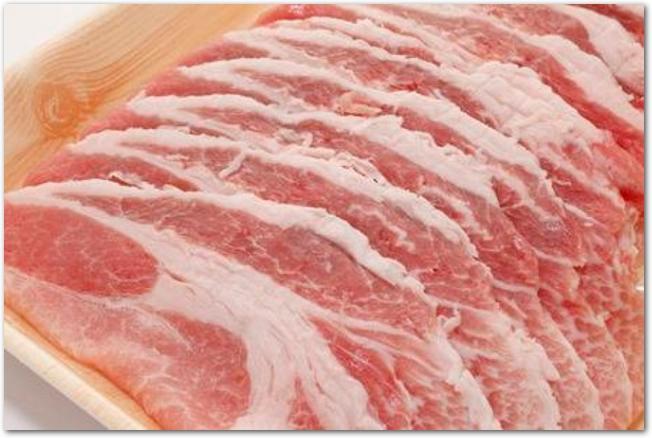 豚しゃぶ用のロース薄切り肉